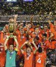 Chile derrotó a Argentina en una final de Copa América por segunda vez en un año. (Foto Prensa Libre: AP)