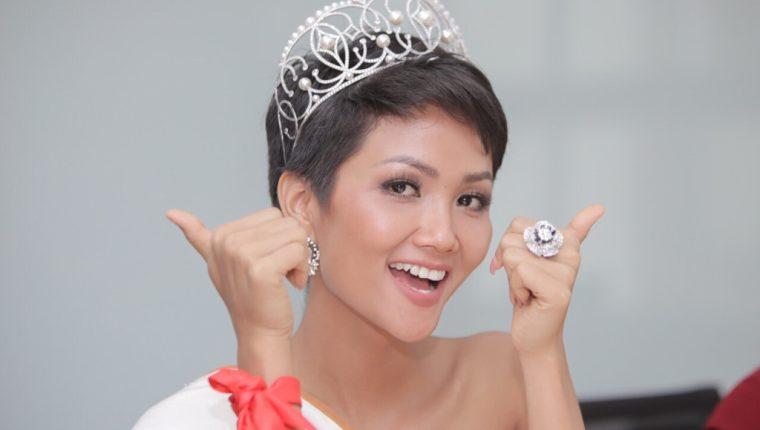 Miss Vietnam, H'Hen Nie, de 26 años, fue elegida una de las cinco finalistas de Miss Universo 2018. (Foto Prensa Libre, zadn.vn).