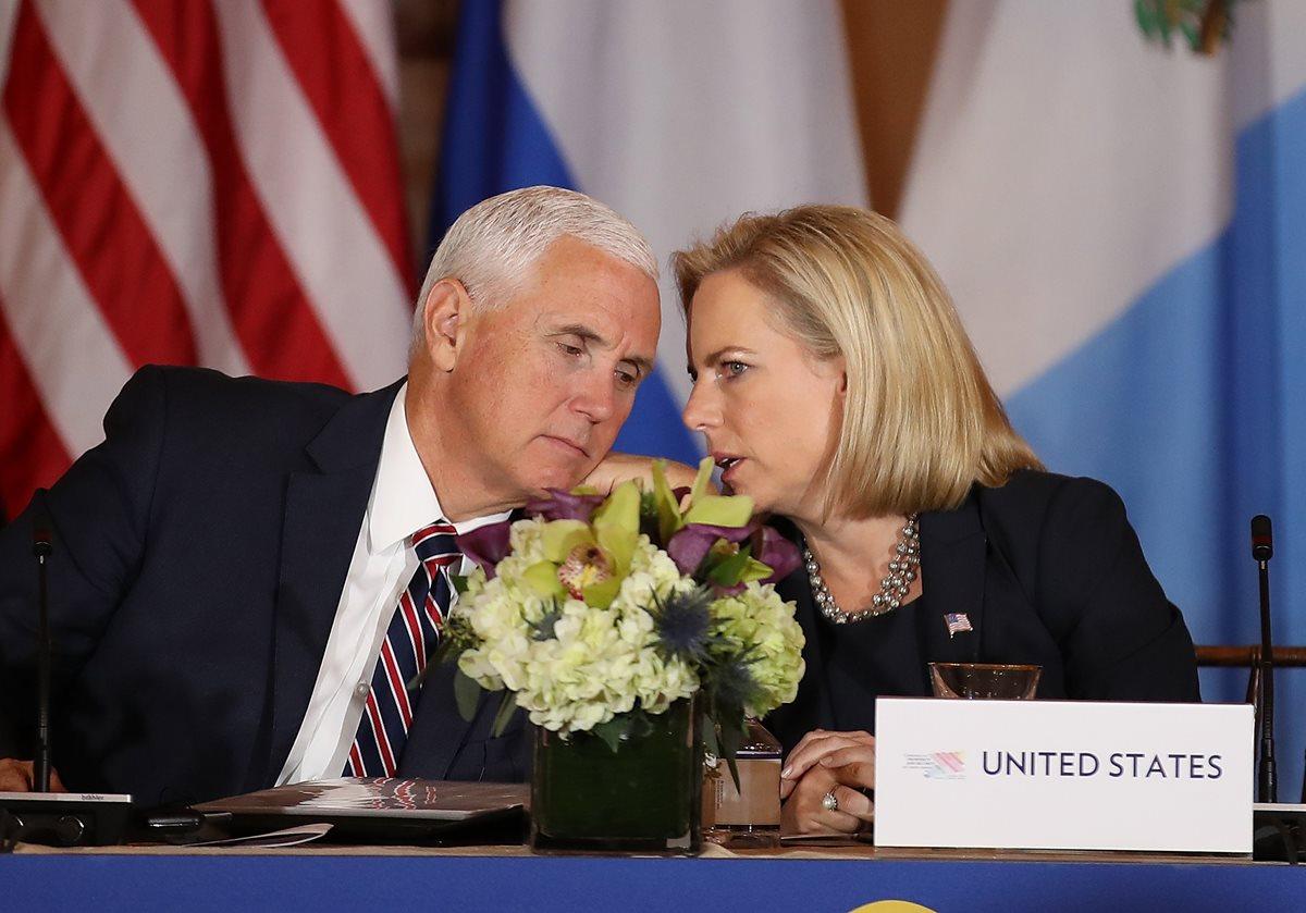 EE. UU. y Centroamérica siguen conferencia sobre migración centrados en tráficantes
