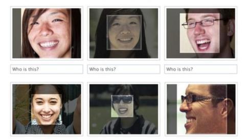 El software busca similitudes entre rostros de su base de datos y fotos etiquetadas. FACEBOOK