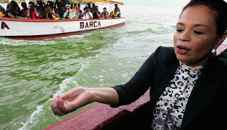 La exvicepresidenta Roxana Baldetti está implicada en el caso Agua Mágica. (Foto Prensa Libre: Kenneth Monzón)