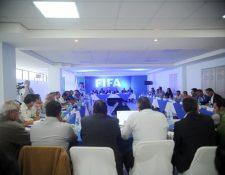 La asamblea del futbol guatemalteco desconoció al Comité de Regularización lo que provocó la suspensión por la Fifa. (Foto Prensa Libre: Edwin Fajardo)