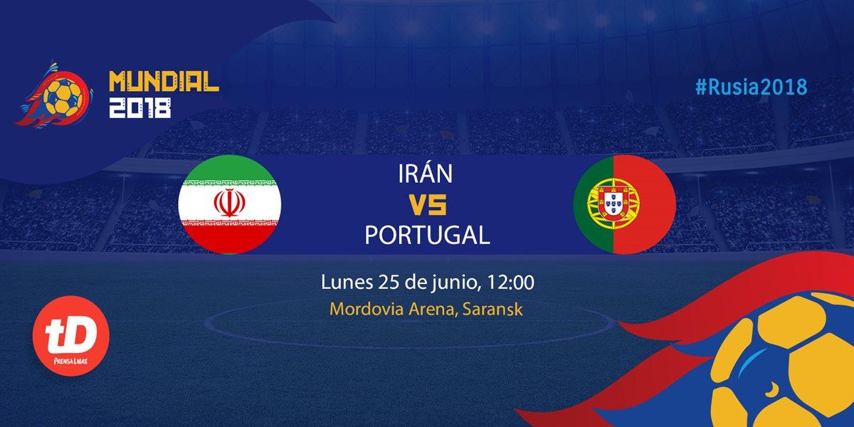 EN DIRECTO   Irán – Portugal