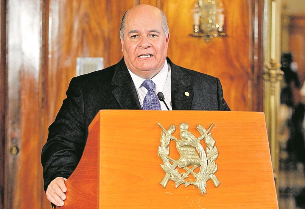 El operador político del Partido Patriota Julio Ligorría. (Foto Prensa Libre: Hemeroteca PL)