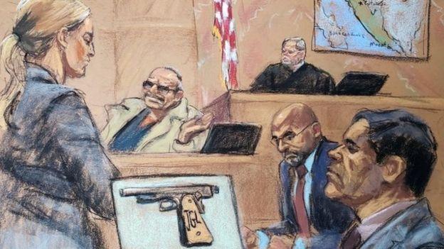 """""""El Rey"""" Zambada es uno de los testigos que sorprendió con su testimonio en el juicio a """"El Chapo""""."""