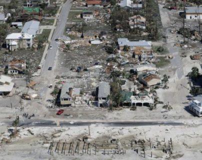 Mexico Beach quedó virtualmente arrasada. GETTY IMAGES