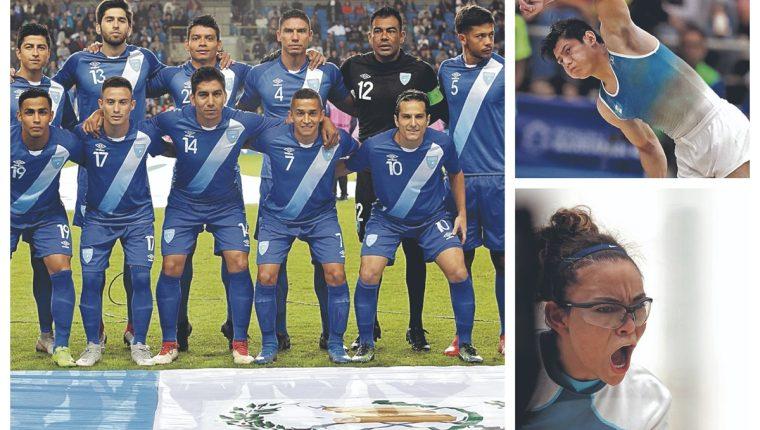 El deporte guatemalteco tuvo momentos muy especiales durante el 2018. (Foto Prensa Libre: Hemeroteca PL)