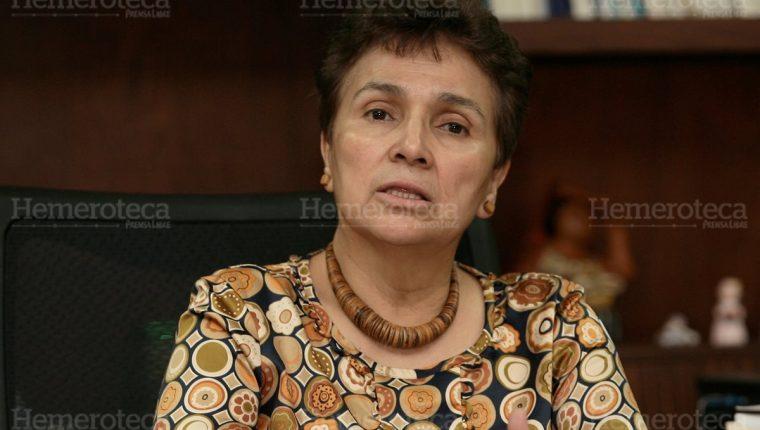 Catalina Soberanis es ícono de la política. (Foto: Hemeroteca PL)