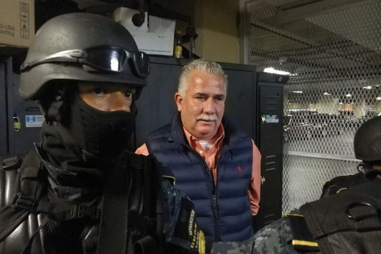 Uno de los detenidos es el ex ministro de Gobernación, Salvador Gándara.