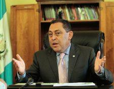 Fuerza de Tarea Chortí será coordinada por Mauricio López Bonilla, ministro de Gobernación. (Foto Prensa Libre: Hemeroteca PL). y