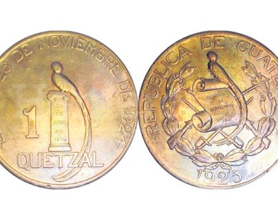 La primera moneda de Q1 contenía una aleación de oro. (Foto: Hemeroteca PL)