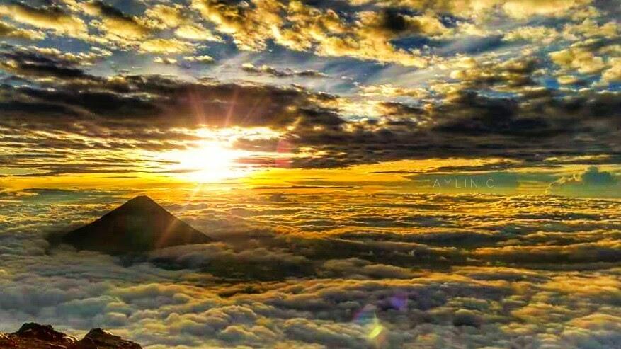 Desde la cima del Acatenango
