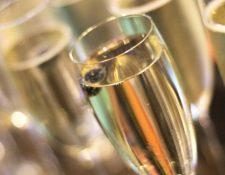 Un simple rábano puede dar ese efecto burbujeante al champán.  Foto  ISTOCK