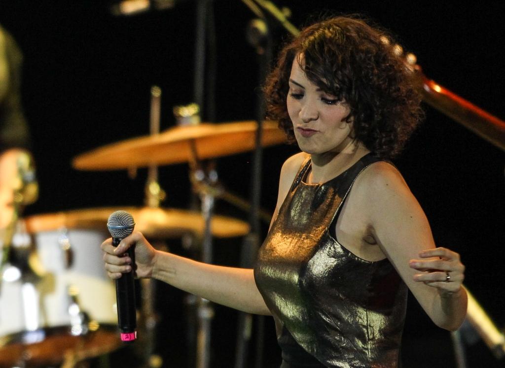 La cantautora guatemalteca sigue destacando en la escena artística internacional. (Foto Prensa Libre: Keneth Cruz)