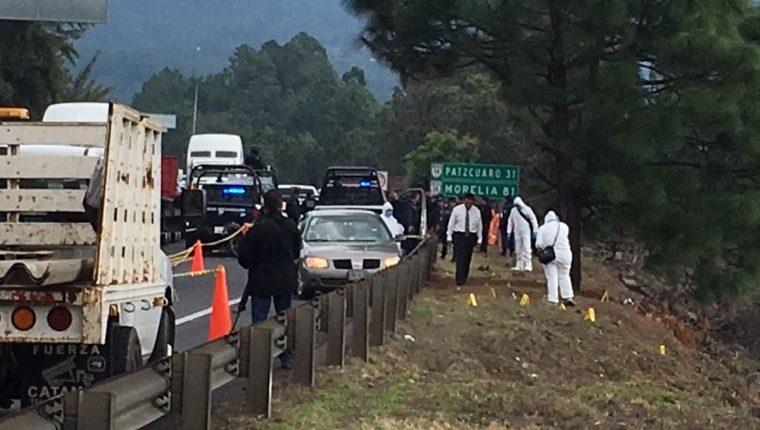Violencia en Michoacán, México, deja seis muertos. (Foto Prensa Libre: EFE)