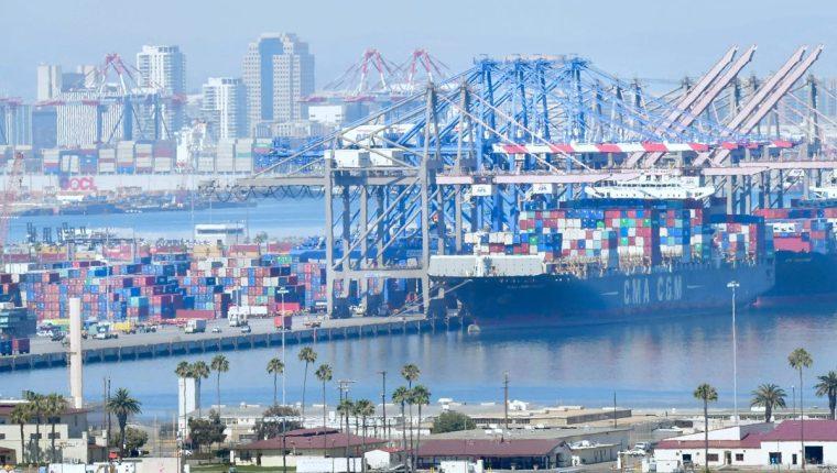 La economía de gran alcance de California será afectada seriamente si la guerra comercial entre los Estados Unidos y China profundiza. (Foto Prensa Libre: AFP)