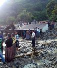 Área devastada en Pantic, Tamahú, Alta Verapaz. (Foto Prensa Libre: Hemeroteca PL)