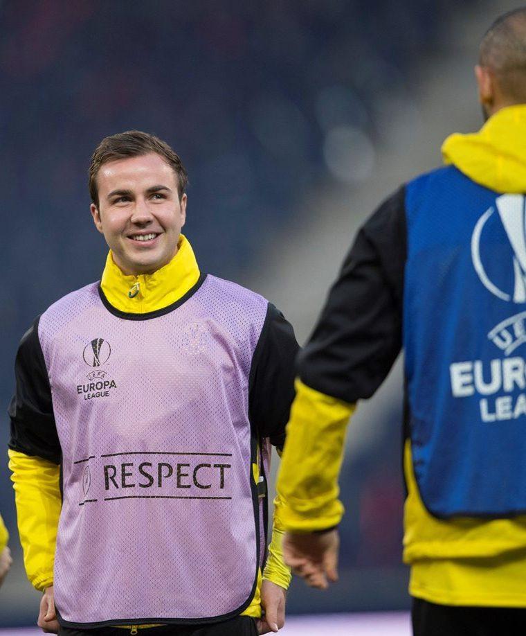 Mario Goetze no estará en los juegos amistosos de la selección alemana frente a Brasil y España. (Foto Prensa Libre: EFE)