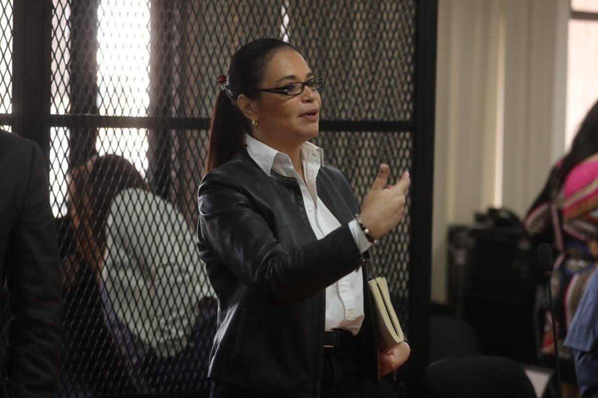 MP pide 22 años de prisión para Roxana Baldetti en caso Agua Mágica
