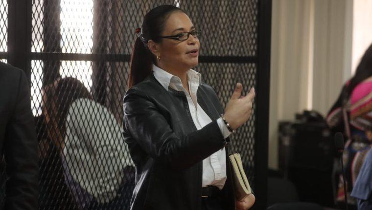 La Fiscalía Especial Contra la Impunidad (FECI), solicitó que la exvicepresidenta Roxana Baldetti sea condenada a 22 años de prisión. (Foto Prensa Libre: Hemeroteca PL)