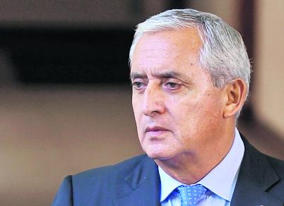Otto Pérez será investigado por su supuesto liderazgo en la estructura La Línea. (Foto Prensa Libre: Hemeroteca PL)