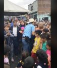 Neto Bran a su llegada a El Milagro. (Foto Prensa Libre: Facebook)