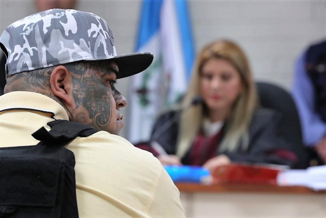 Érick Contreras, alias el Abuelo, se convirtió en colaborador eficaz y declaró en contra de 23 pandilleros. (Foto Prensa Libre: Estuardo Paredes)