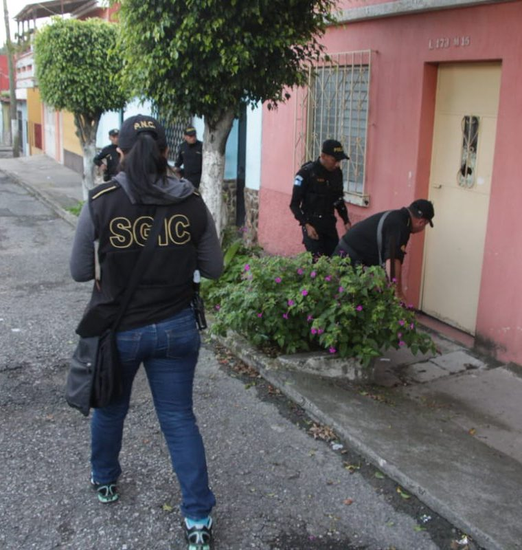 Hasta el momento se reportan varias capturas. (Foto Prensa Libre: Cortesía PNC)