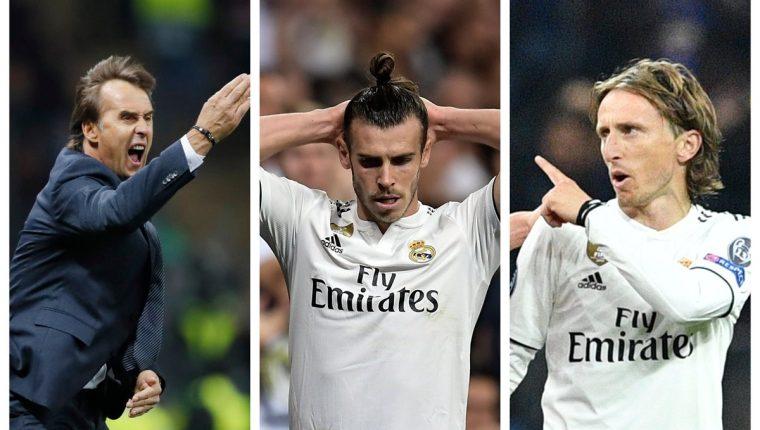 El Real Madrid atraviesa una crisis, después de la partida de Zidane y Cristiano. (Foto Prensa Libre: AFP)