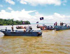 Los dos países mantienen una disputa territorial por el reclamo guatemalteco de cerca de la mitad del territorio de Belice. (Foto Prensa Libre: Hemeroteca PL)