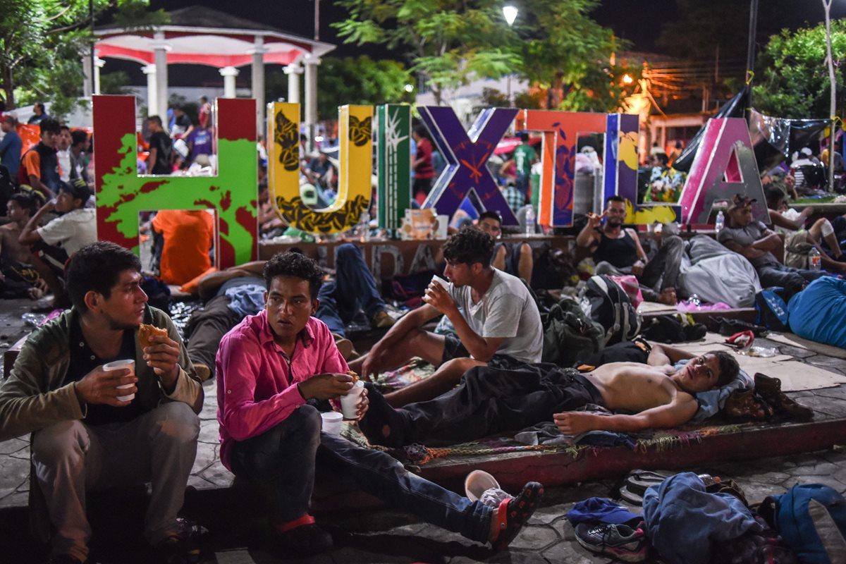 Solidaridad de los mexicanos reconforta a miles de migrantes hondureños