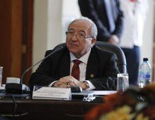 El magistrado Nery Medina es el nuevo presidente del Organismo Judicial de Guatemala y de la Corte Suprema de Justicia. (Foto Prensa Libre: Hemeroteca PL)