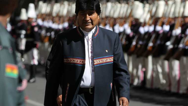 Evo Morales, presidente de Bolivia. (Foto Prensa Libre: EFE).