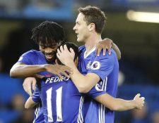 El español Pedro Rodríguez fue la figura del Chelsea al anotar un doblete en la victoria 3-0 sobre el Bournemouth. (Foto Prensa Libre: AP)