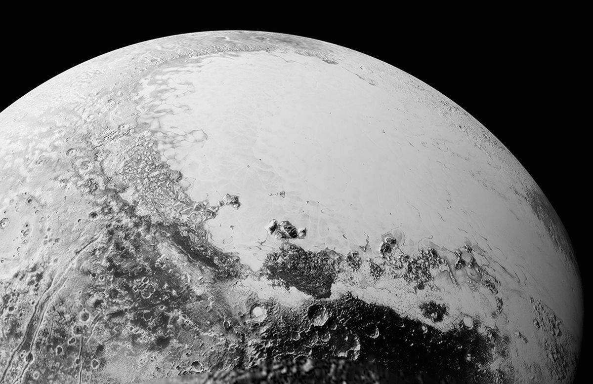 Nuevas imágenes de Plutón sorprenden a la Nasa