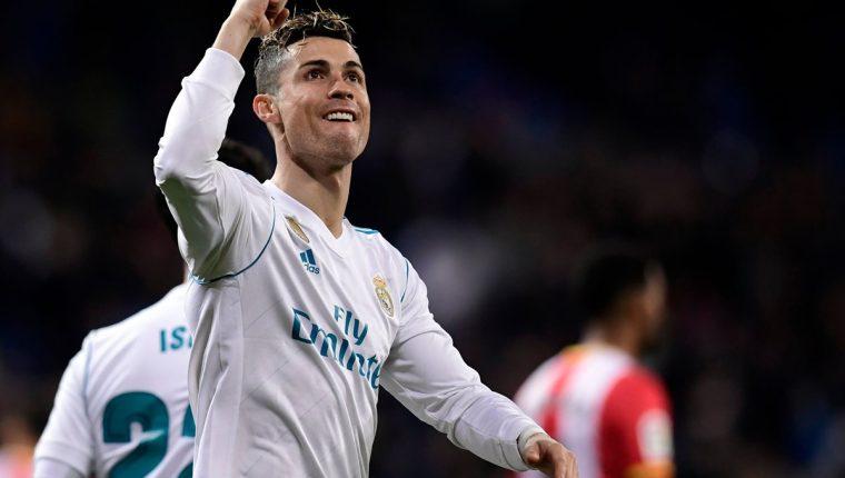 Cristiano Ronaldo tendrá frente a la Juventus una nueva oportunidad de alargar su racha goleadora. (Foto Prensa Libre: AFP)