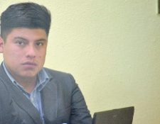 Eduardo Rodrigo Alvarado Cano fue condenado a una pena de siete años de prisión,  en Quetzaltenango. (Foto Prensa Libre: Alejandra Martínez)