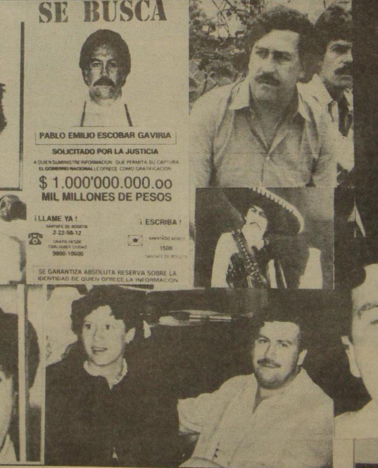 Los múltiples rostros de Pablo Escobar, quien llegó a convertirse en una persona mediática. (Foto: Hemeroteca PL)