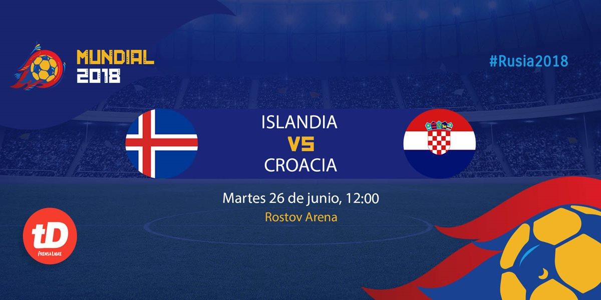 EN DIRECTO   Islandia vs Croacia