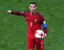 Cristiano Ronaldo recibió permiso para iniciar sus vacaciones tras eliminación ante Chile. (Foto Prensa Libre: AFP).