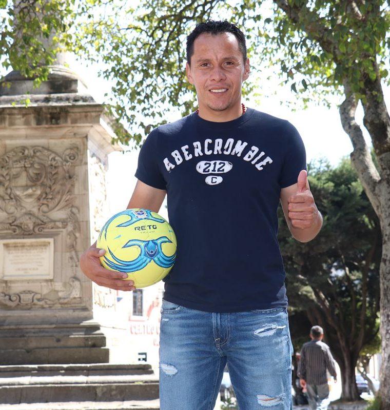 El jugador se siente motivado por la confianza que le ha dado Wálter Claverí. (Foto Prensa Libre: Raúl Juárez)
