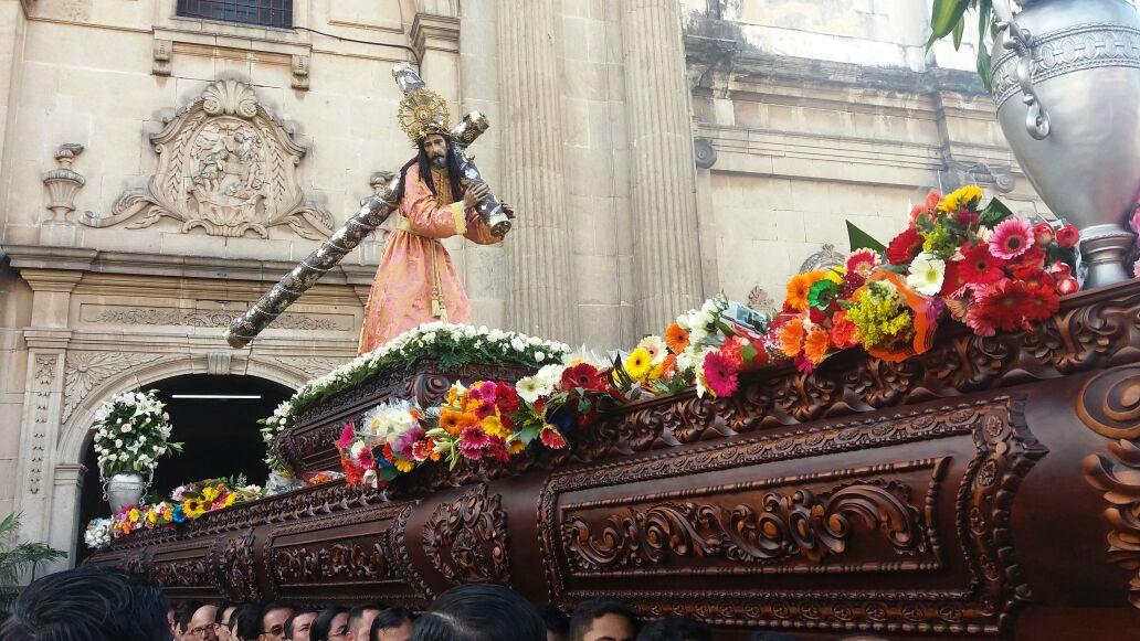 Solemne procesión de La Reseña de la iglesia La Merced