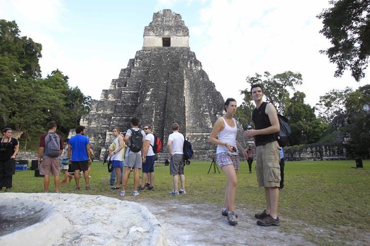 Los atractivos turísticos de Guatemala, como el Parque Nacional Tikal, se promocionan en diversas ciudades de Estados Unidos, Latinoamérica y Europa. (Foto, Prensa Libre: Hemeroteca PL).