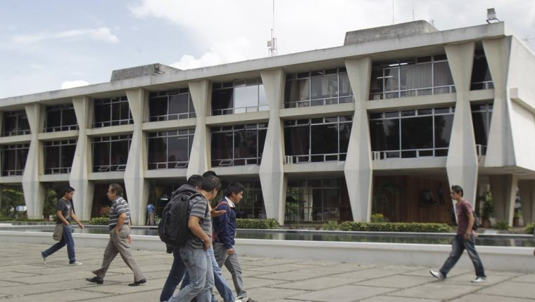 Edificio de Rectoría de la Usac. (Foto Prensa Libre: Hemeroteca PL).
