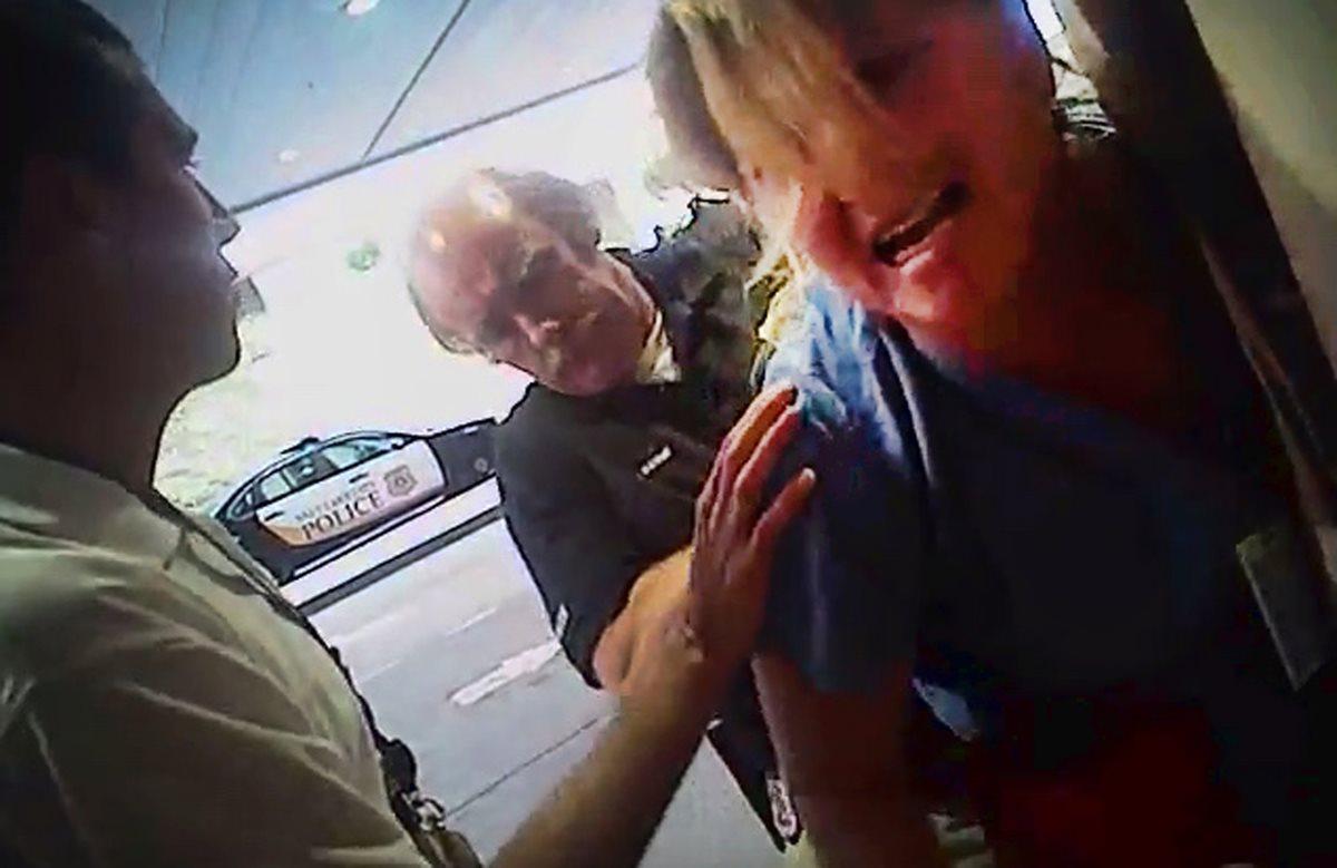 Enfermera fue arrestada en EE. UU. por negar a policía sangre de un paciente
