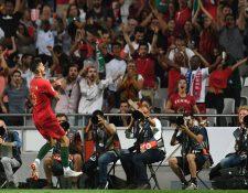 André Silva anotó el gol de la victoria de Portugal contra Italia. (Foto Prensa Libre: AFP)
