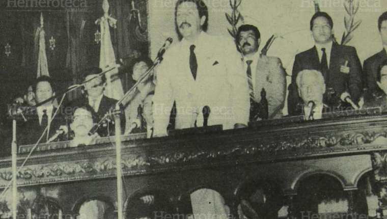 Presidentes de C. A. firman acuerdos de Esquipulas II. (Foto: Hemeroteca PL)