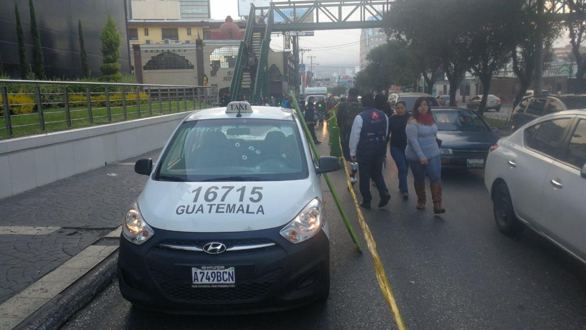 Muere tercera víctima de ataques contra taxistas