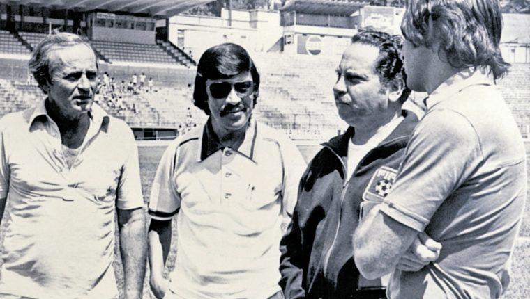 El exitoso técnico uruguayo Rubén Amorín falleció el 24 de diciembre del 2014, a los 87 años. Su figura sigue vigente, junto a su enorme legado (Foto Prensa Libre: Hemeroteca PL)