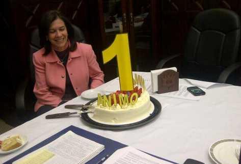Ministra Cynthia del Águila cumple un año de esperar su interpelación. (Foto Prensa Libre: Alex Rojas)